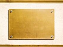 Пустой знак Стоковое фото RF