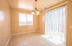 Пустой интерьер комнаты - кухня Стоковые Фото