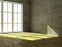 пустой интерьер Стоковая Фотография RF