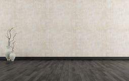 пустой интерьер grunge Стоковая Фотография RF
