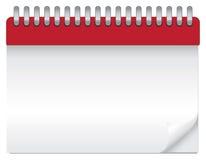 пустой календар иллюстрация штока