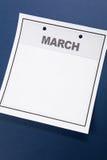 пустой календар Стоковая Фотография RF