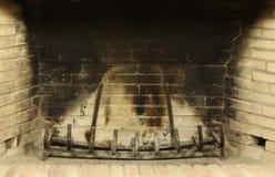 пустой камин Стоковое фото RF