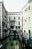 Пустой канал Венеции Стоковые Изображения