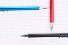 пустой карандаш страницы Стоковые Изображения