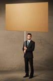 пустой картон бизнесмена Стоковые Изображения RF