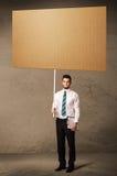пустой картон бизнесмена Стоковые Изображения