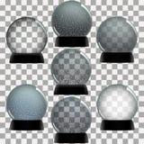 Пустой комплект глобуса снега Стоковое Изображение RF