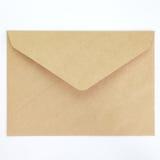 Пустой конверт Стоковые Изображения