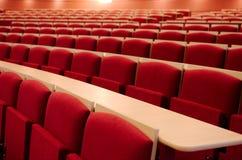Пустой конец-вверх лекционного зала Стоковое фото RF