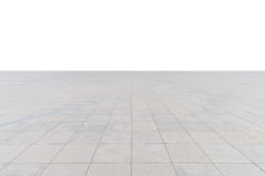 Пустой конкретный квадратный пол стоковые изображения rf