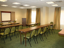 пустой конференц-зал стоковое фото rf