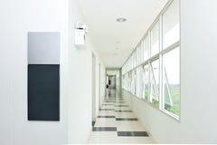 Пустой коридор стоковые фотографии rf