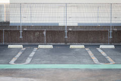 Пустой космос в месте для стоянки автомобиля Стоковое Фото