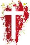 Пустой крест иллюстрация штока