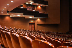 Пустой классический театр Стоковые Изображения RF