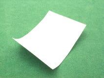 пустой лист Стоковые Фотографии RF