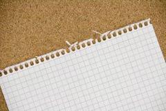 пустой лист Стоковое Фото
