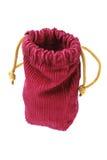 Пустой мешок ткани Corduroy Стоковое Изображение