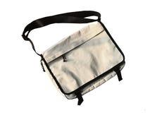Пустой модель-макет сумки холста Tote Стоковое фото RF