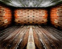 пустой нутряной сбор винограда комнаты Стоковое Фото
