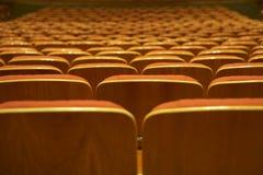 пустой нутряной театр Стоковая Фотография RF