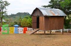 Пустой дом овец Стоковые Изображения RF