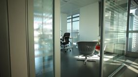 пустой офис сток-видео