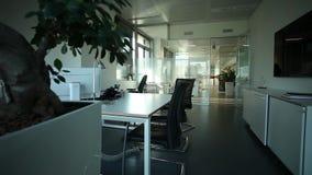 пустой офис видеоматериал