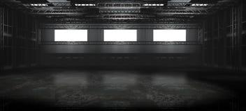 пустой пакгауз Стоковые Изображения RF