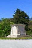 пустой памятник Стоковая Фотография