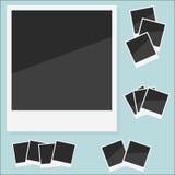 Пустой поляроид фото. Иллюстрация вектора Стоковое фото RF