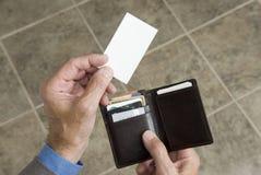 пустой представлять визитной карточки 2 Стоковые Фотографии RF