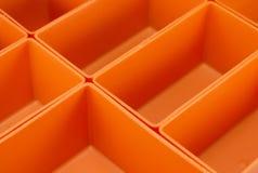 Пустой пластичный изолированный организатор инструмента Стоковое Изображение RF