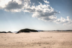Пустой пляж на острове Bazaruto Стоковое Фото