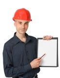 пустой работник знака конструкции Стоковые Фотографии RF