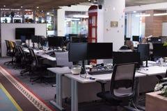 пустой самомоднейший офис Стоковое фото RF