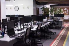 пустой самомоднейший офис Стоковые Изображения