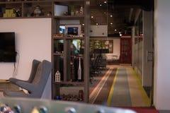 пустой самомоднейший офис Стоковая Фотография RF