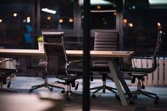 пустой самомоднейший офис Стоковое Фото