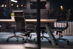 пустой самомоднейший офис Стоковые Фото