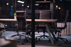 пустой самомоднейший офис Стоковые Изображения RF
