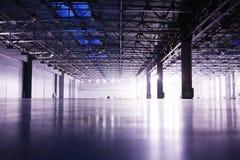 пустой самомоднейший storehouse Стоковые Фотографии RF