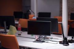 пустой самомоднейший офис Стоковое Изображение RF