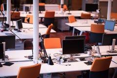 пустой самомоднейший офис Стоковые Фотографии RF