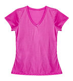 Пустой свет - розовая рубашка Стоковые Фотографии RF