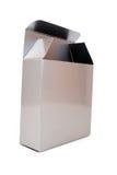 пустой серебр коробки Стоковая Фотография RF