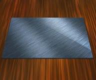 пустой серебр плиты Стоковая Фотография RF