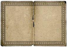 пустой сертификат граници старый Стоковые Изображения