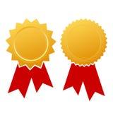пустой сертификат Стоковые Фотографии RF